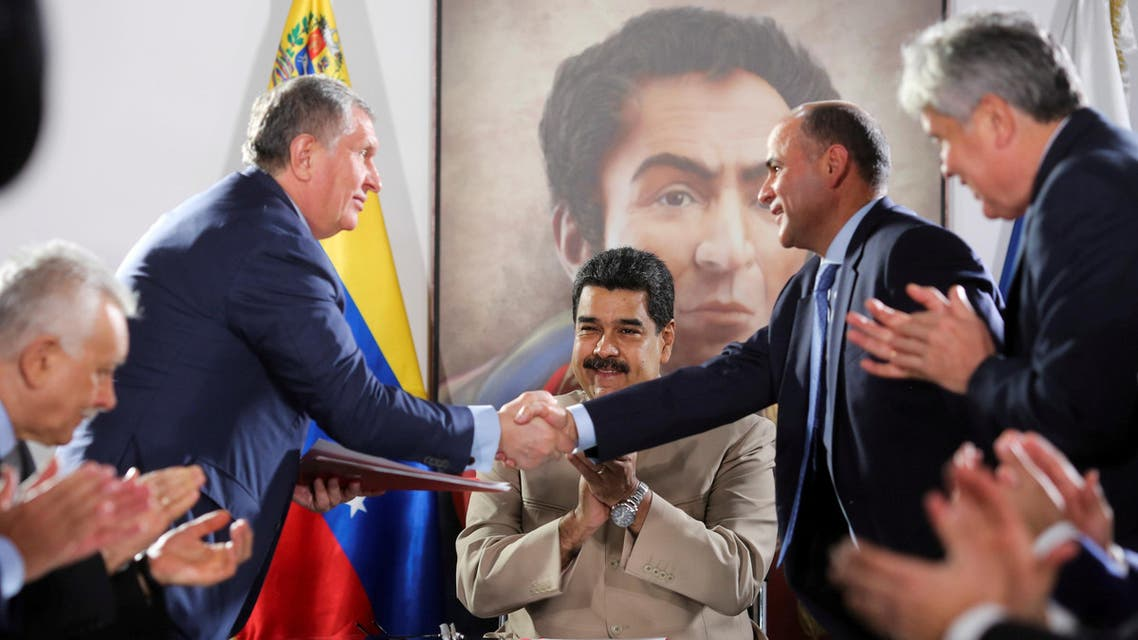 روسنفت فنزويلا