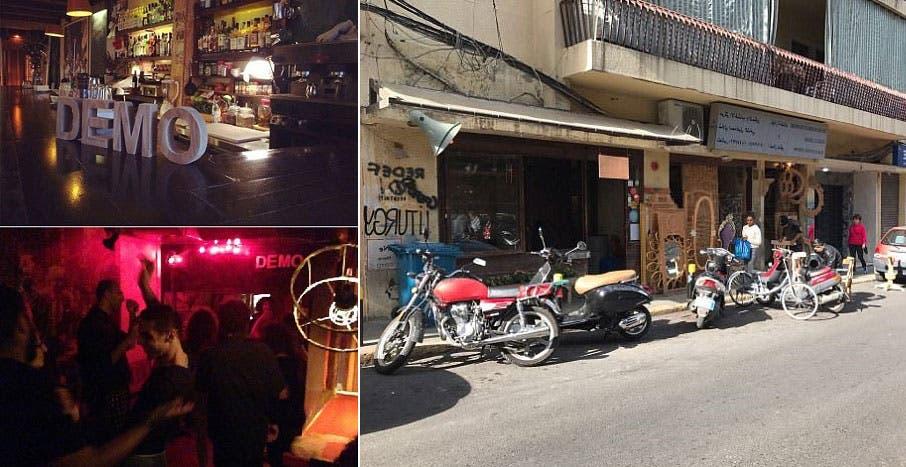 في حانة ديمو، البادية من الخارج  والداخل بمنطقة الجميزة في بيروت، سهرت ريبيكا حتى منتصف ليل الجمعة الماضي تقريبا، ومن بعدها استقلت تاكسي أوبر، فاغتصبها السائق وقتلها