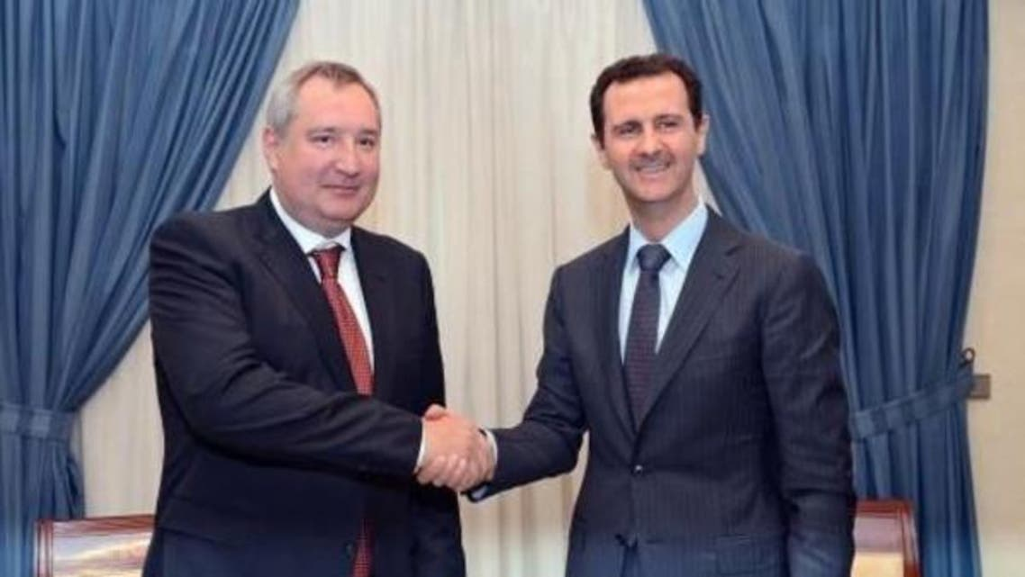 bashar and russian primenister