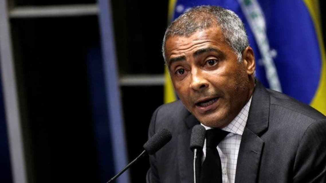 Romario, 51, now a senator who has led congressional investigations into corruption in Brazilian football. (Reuters)