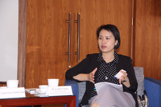 Connie Chang, Director General of Taiwan's National Development Council's Department of Overall Planning, is leaving no stones unturned to attract Muslim tourists