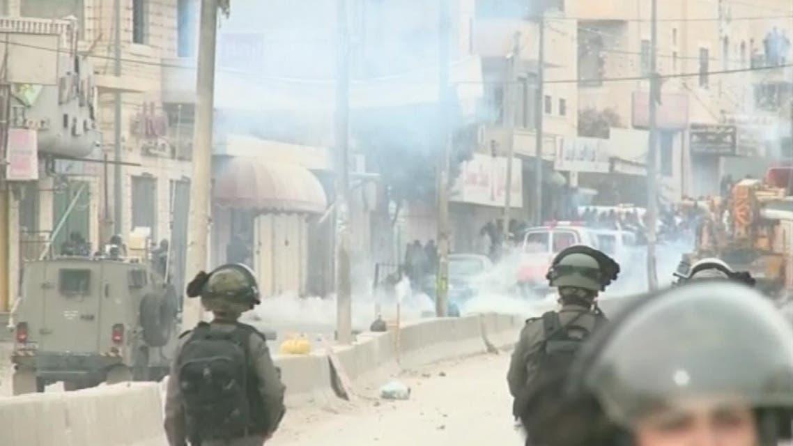 THUMBNAIL_ قوات الاحتلال تصيب العشرات من الفلسطينيين