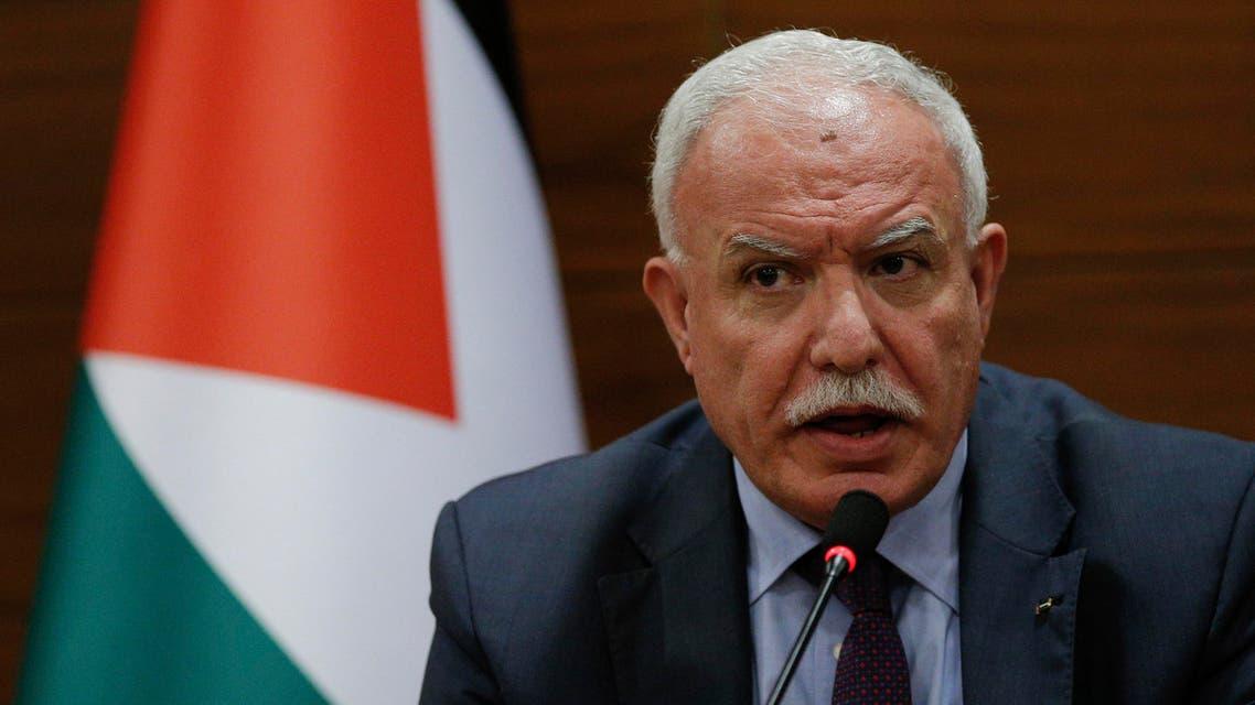 وزير الخارجية الفلسطيني رياض المالكي 21-12-2017