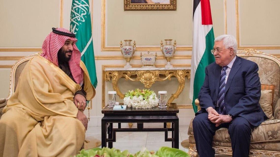 ولي العهد ورئيس فلسطين