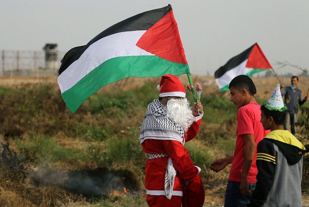 Palestinian protest 2 (Reuters)