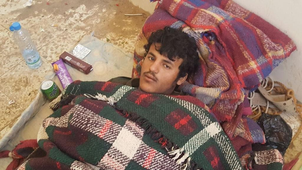 مشرف وقيادي حوثي كبير أسره الجيش اليمني في الجوف