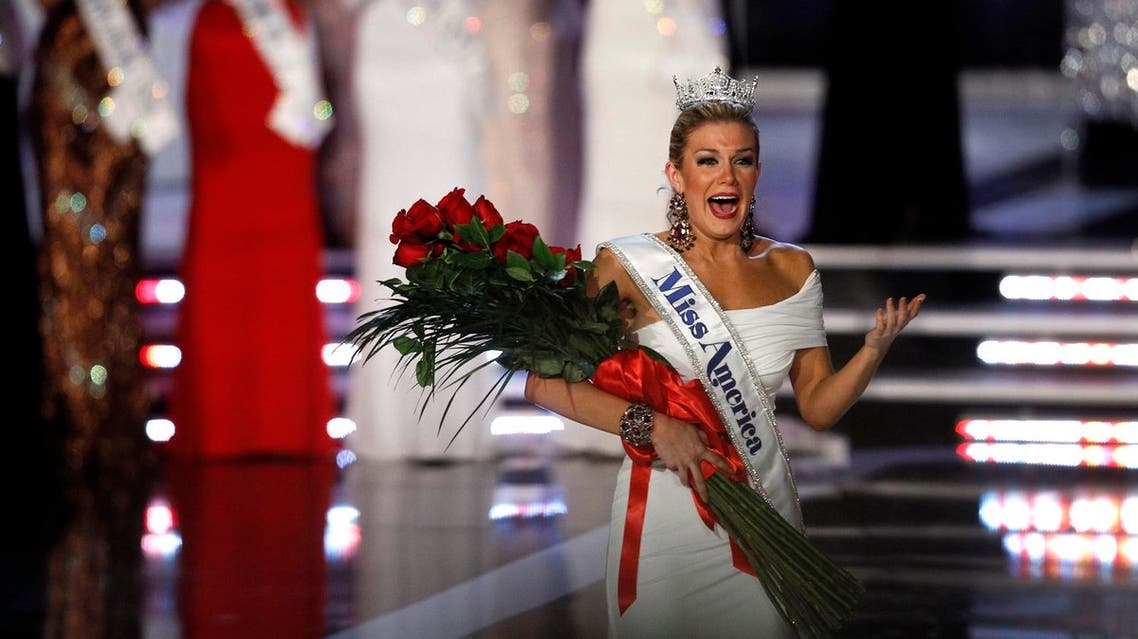 Miss New York Mallory Hytes Hagan, 23, reacts after being crowned Miss America 2013 . (Reuters)