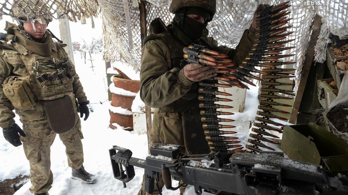 Ukraine weapons. (Reuters)