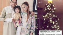 Death threats over a Christmas tree: British boxer Amir Khan faces online wrath