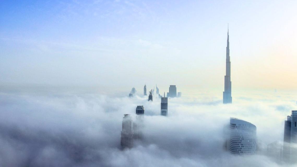 ضباب دبي