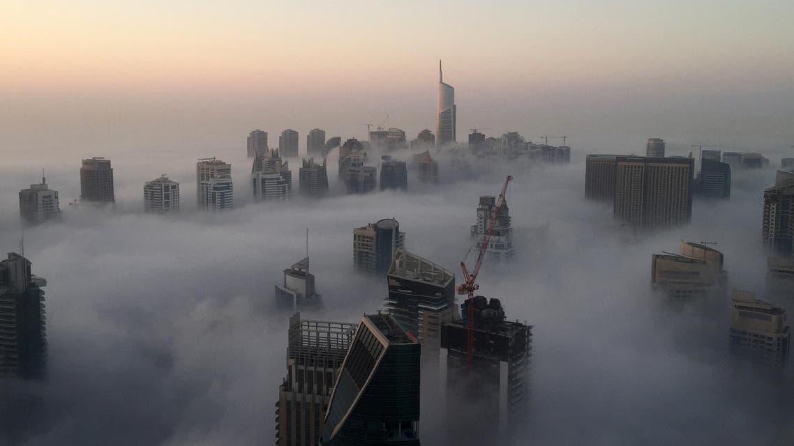 AFP - Dubai fog December 24