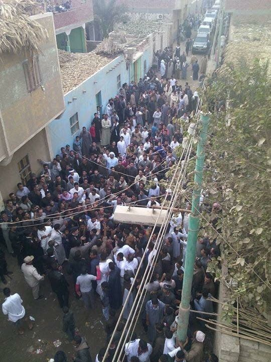 بالصور.. تفاصيل الاعتداء على كنيسة مصرية والمطالبة بهدمها