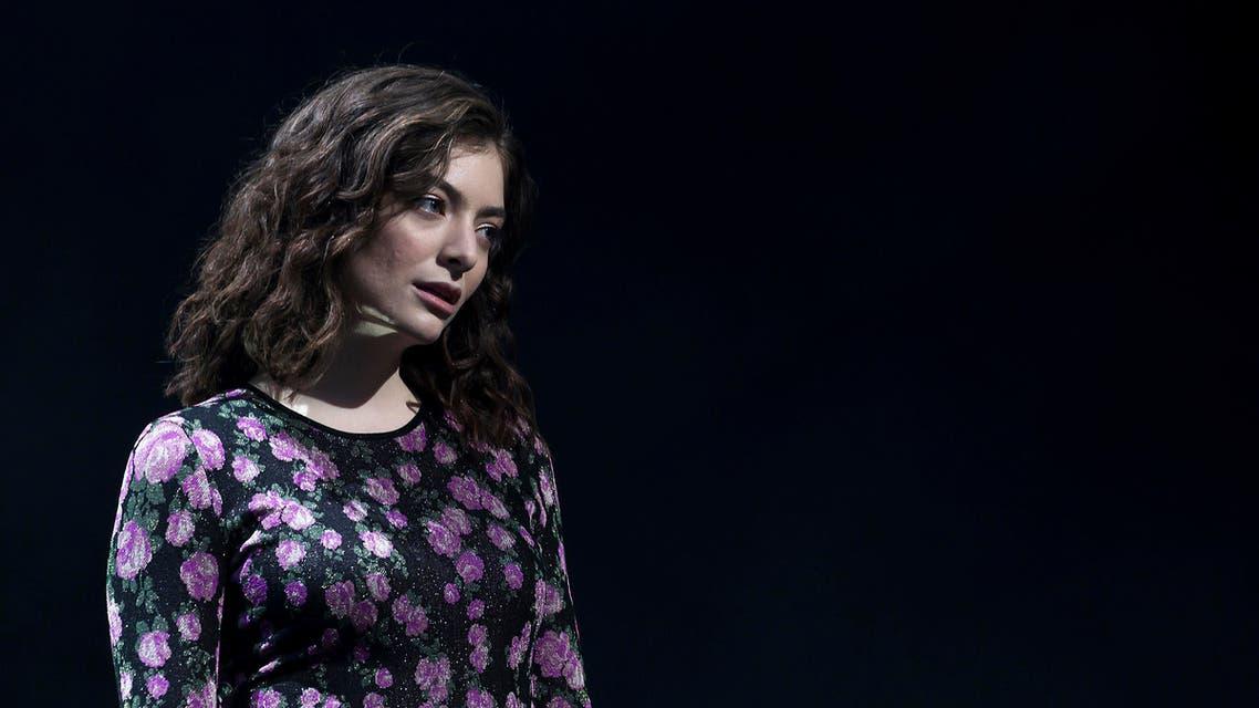 Lorde. (AP)
