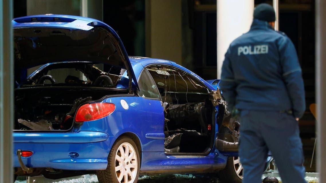 السيارة المستخدمة في الهجوم