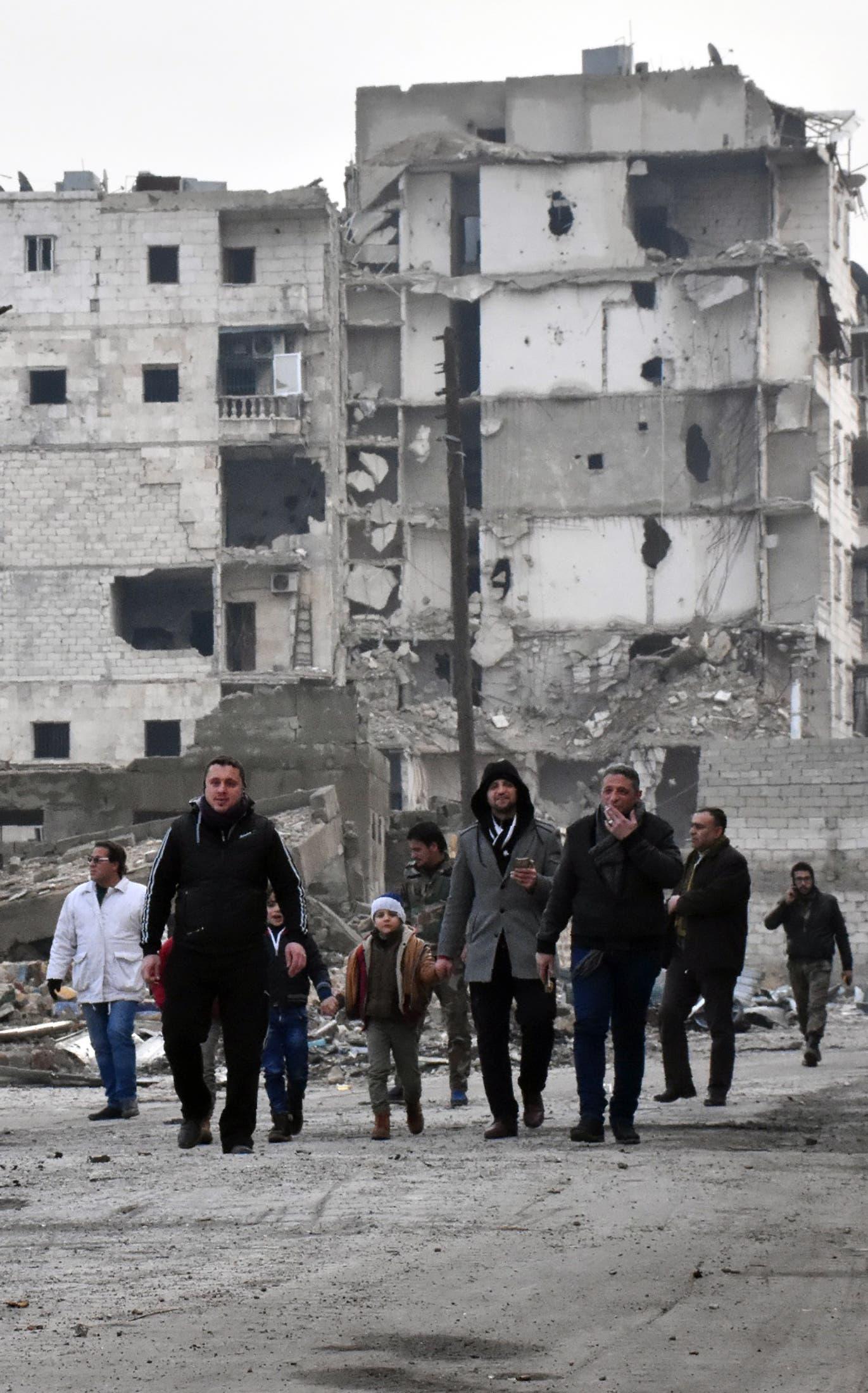 Aleppo. (AFP)