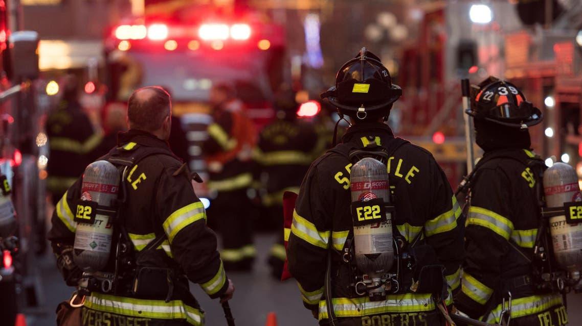 رجال إطفاء أميركيون