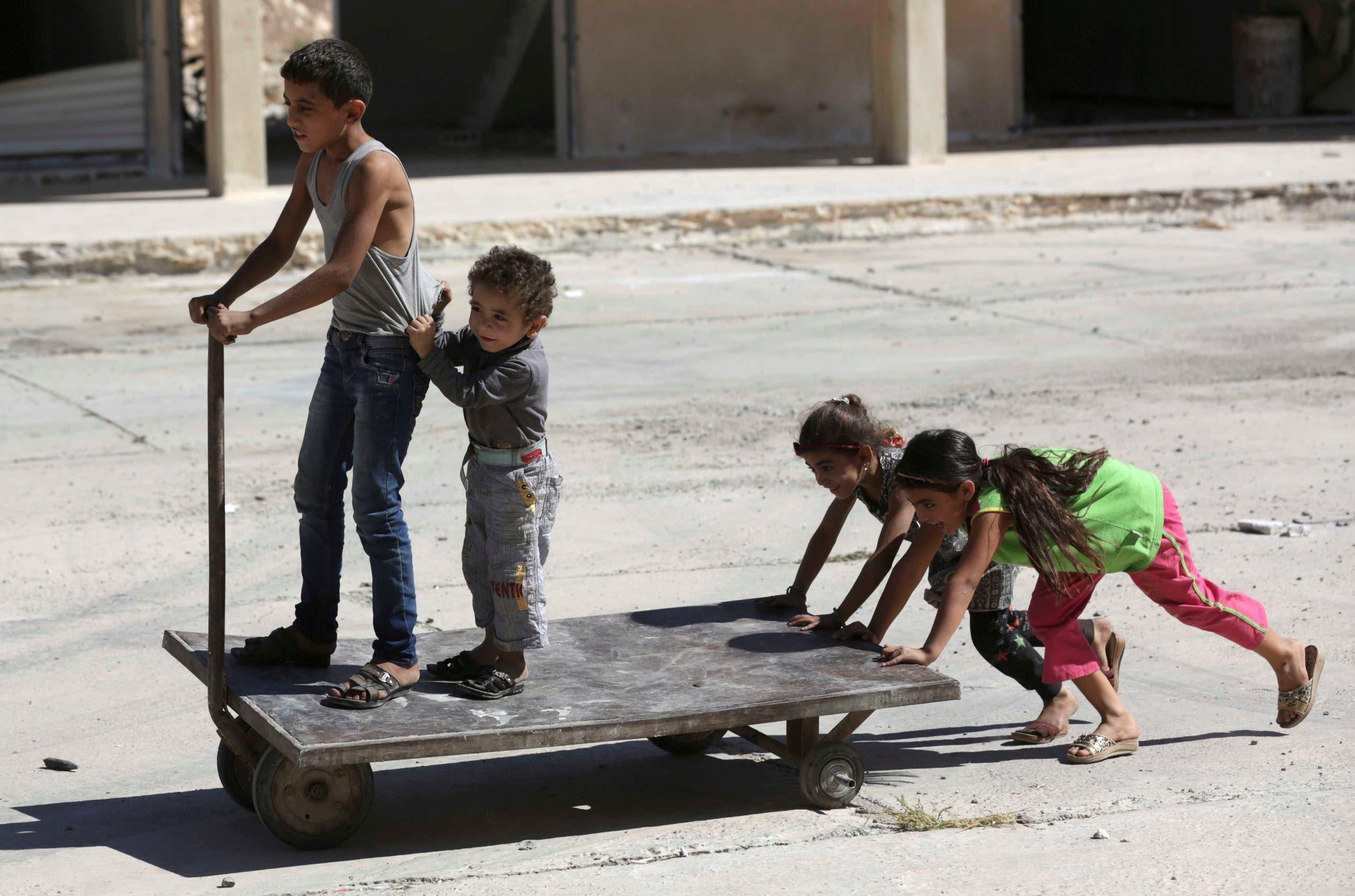 Aleppo, Syria. (Reuters)