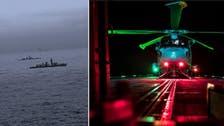 British navy escorts Russian warship through North Sea amid strained ties