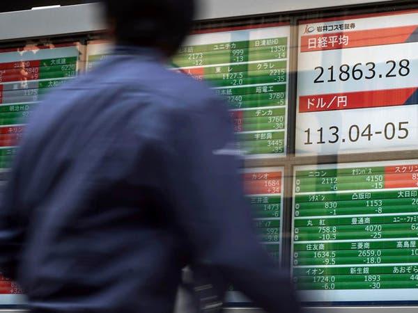 أسهم اليابان تسجل مكاسب طفيفة عند الإغلاق