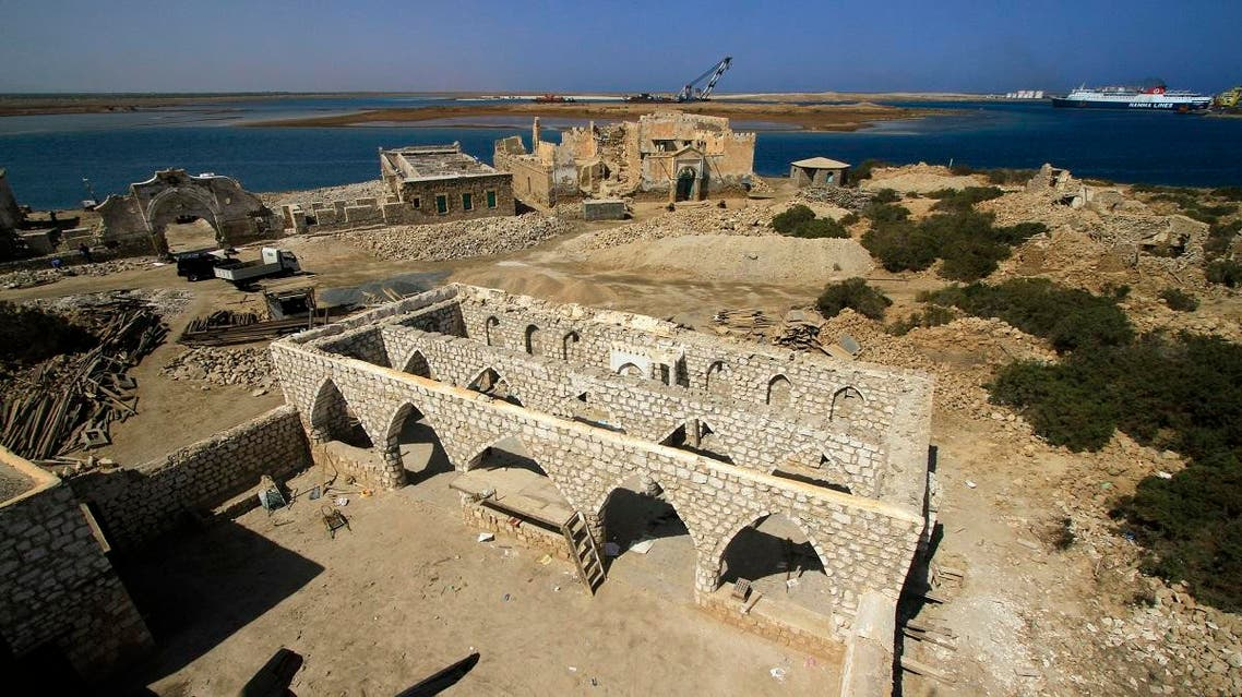 Sudan is trying to attract tourism to the Red Sea state, and a Turkish company is helping to restore old buildings in the port of Suakin. (Reuters)