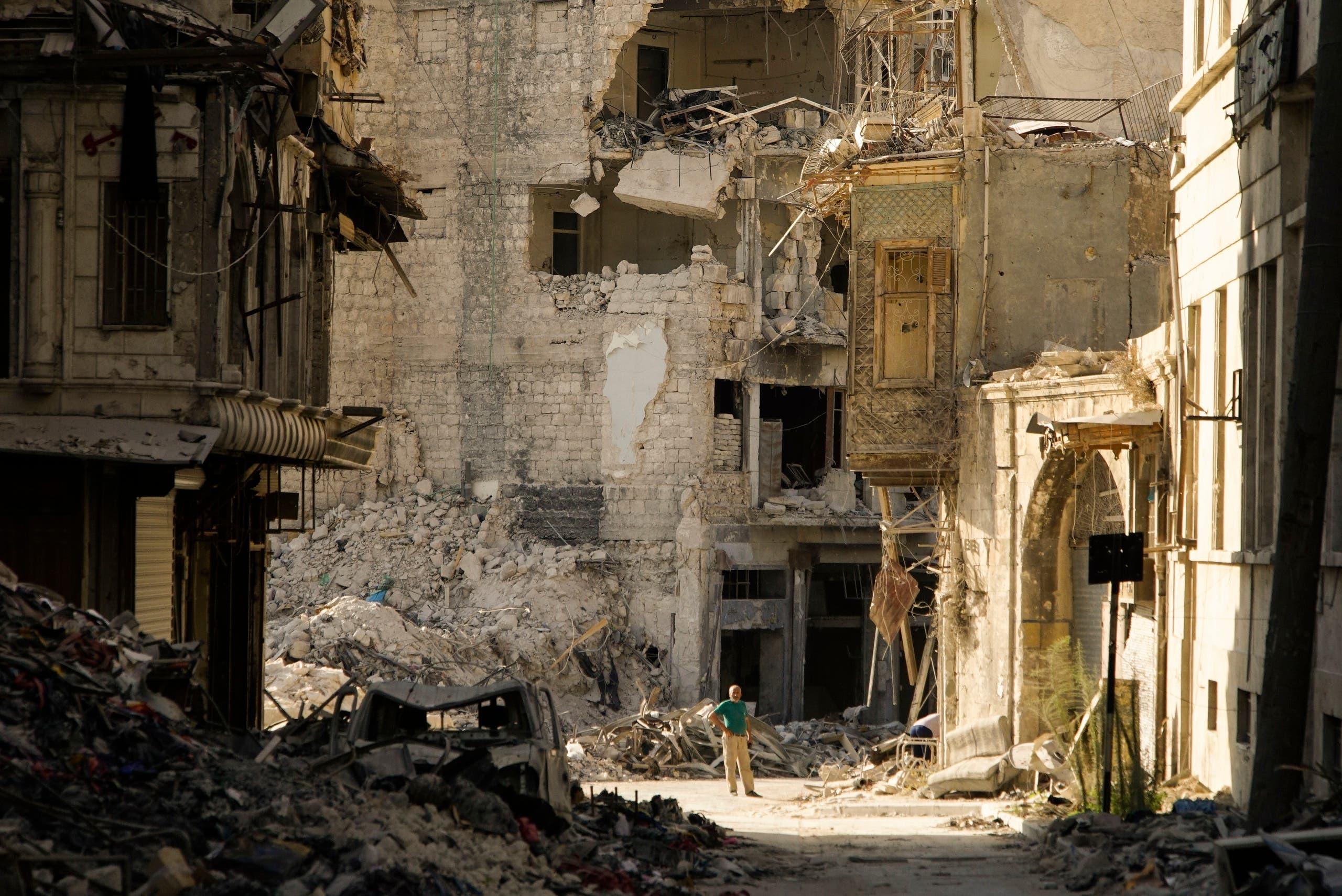 Aleppo. (AP)