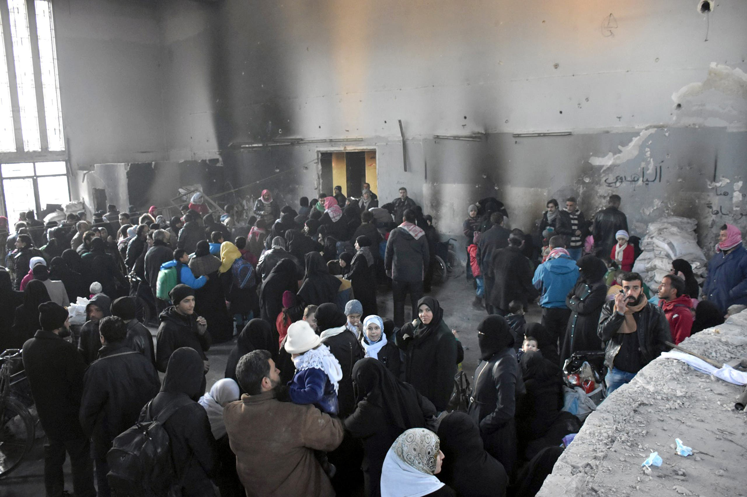Aleppo. (Reuters)