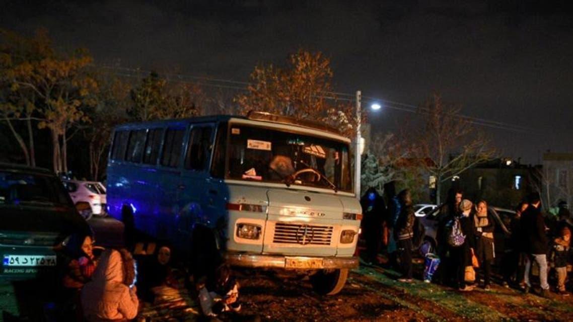 بعد الزلزال-طهران1