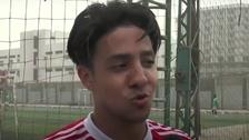 WATCH: Egyptian one-legged footballer revels in his celebrity status
