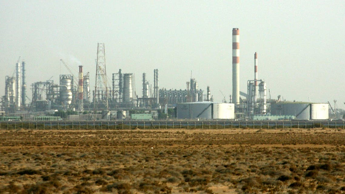 Refining and petrochemical facilities of Rabigh Refining & Petrochemical Co. are seen near Jeddah on November 12, 2007. (Reuters)