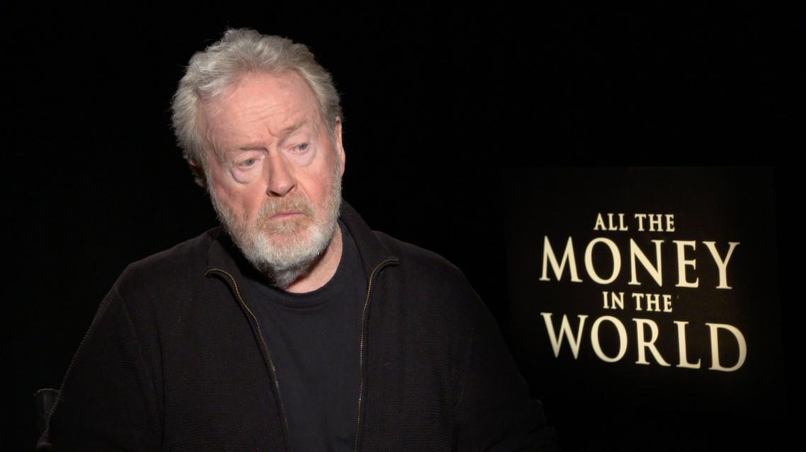 Al Arabiya's William Mullally sits down with legendary director Ridley Scott to talk about his latest film All the Money in the World. (Al Arabiya)