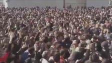 مشہد میں ایرانیوں نے صدر روحانی اور سپریم لیڈر خامنہ ای مخالف نعرے لگا دیے