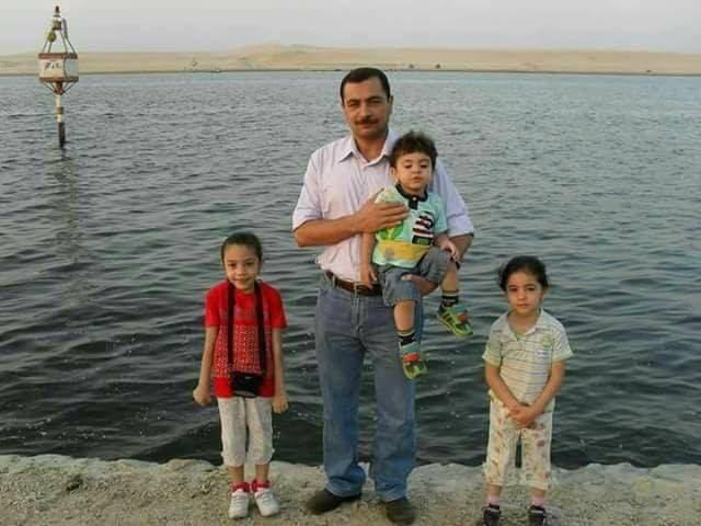 صورة العقيد أحمد الكفراوي الذي قتل في هجوم إرهابي بئر العبد