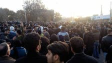 Protests continue in at least a dozen cities throughout Iran