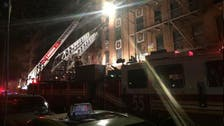 Apartment fire kills 12 in New York, four injured