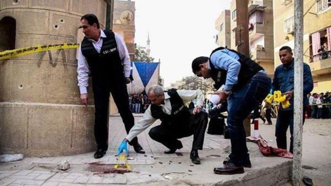 هجوم كنيسة حلوان مصر
