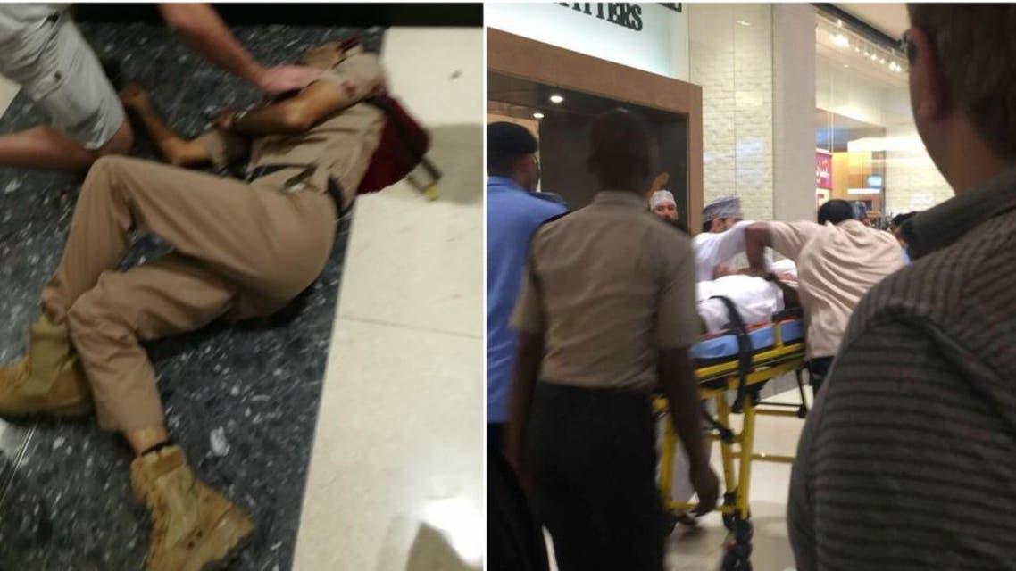 مقتل شرطي عماني