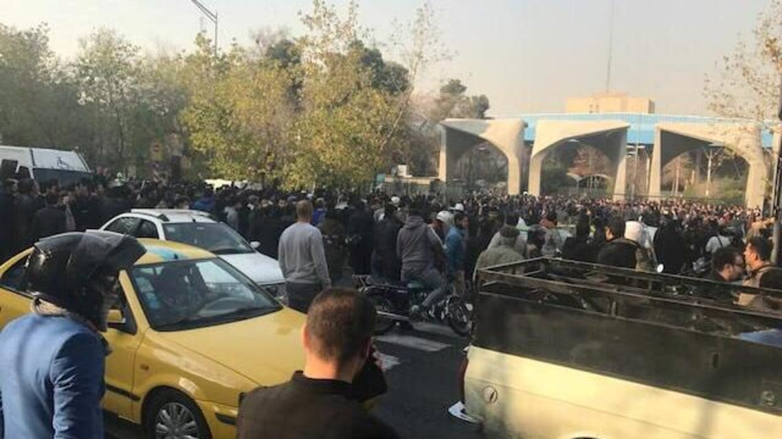 Mass protests grip several cities in Iran 4