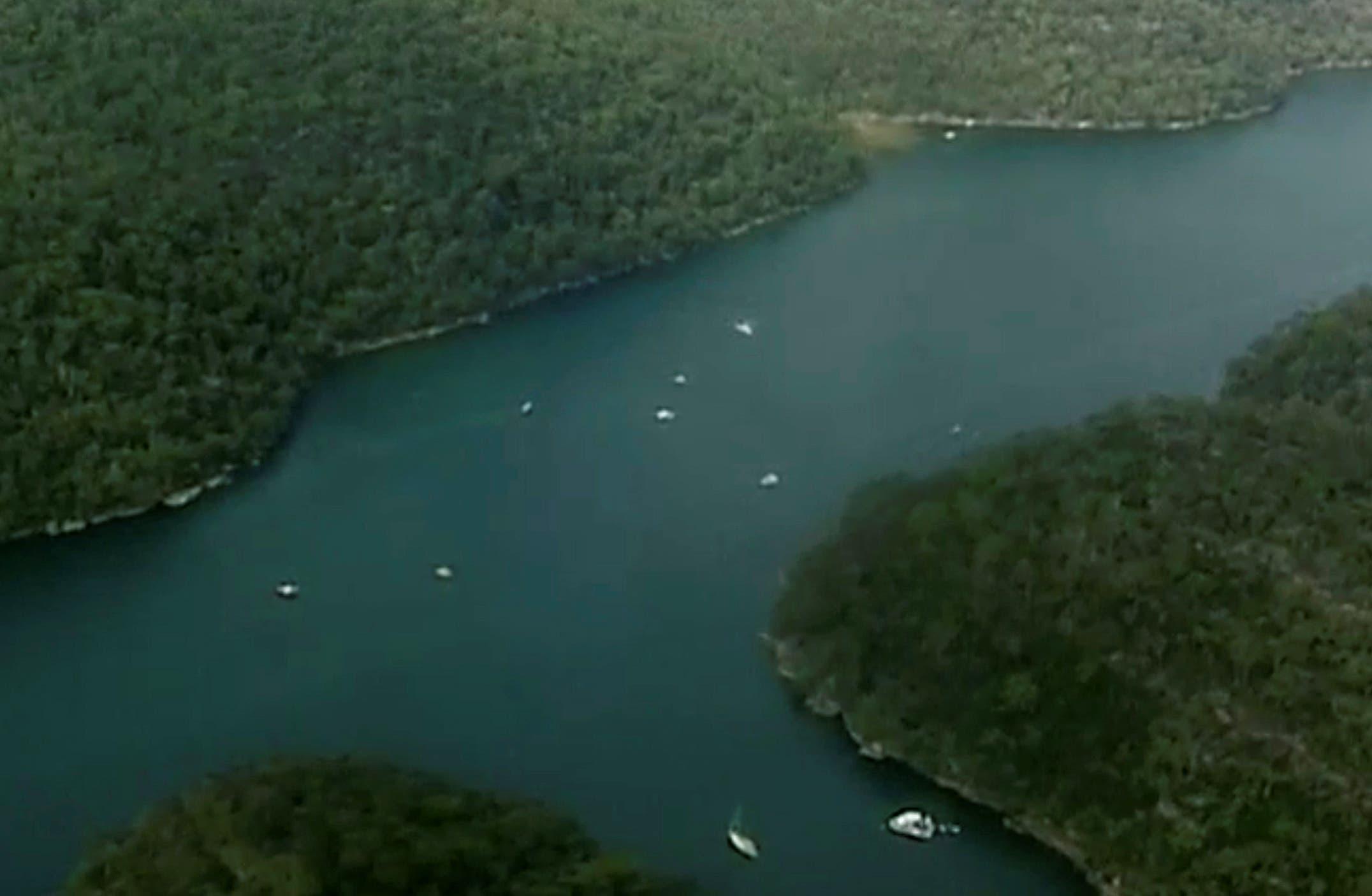 Sydney seaplane. (Reuters)