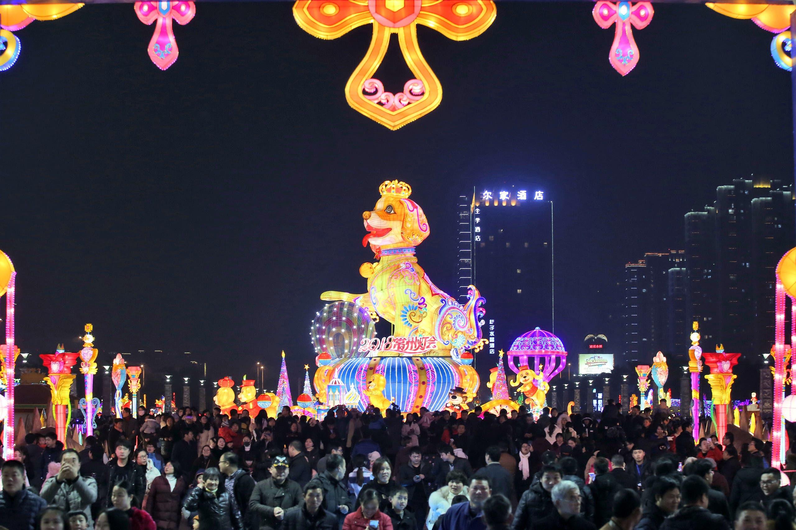 چین میں  نئے سال  کا  استقبال