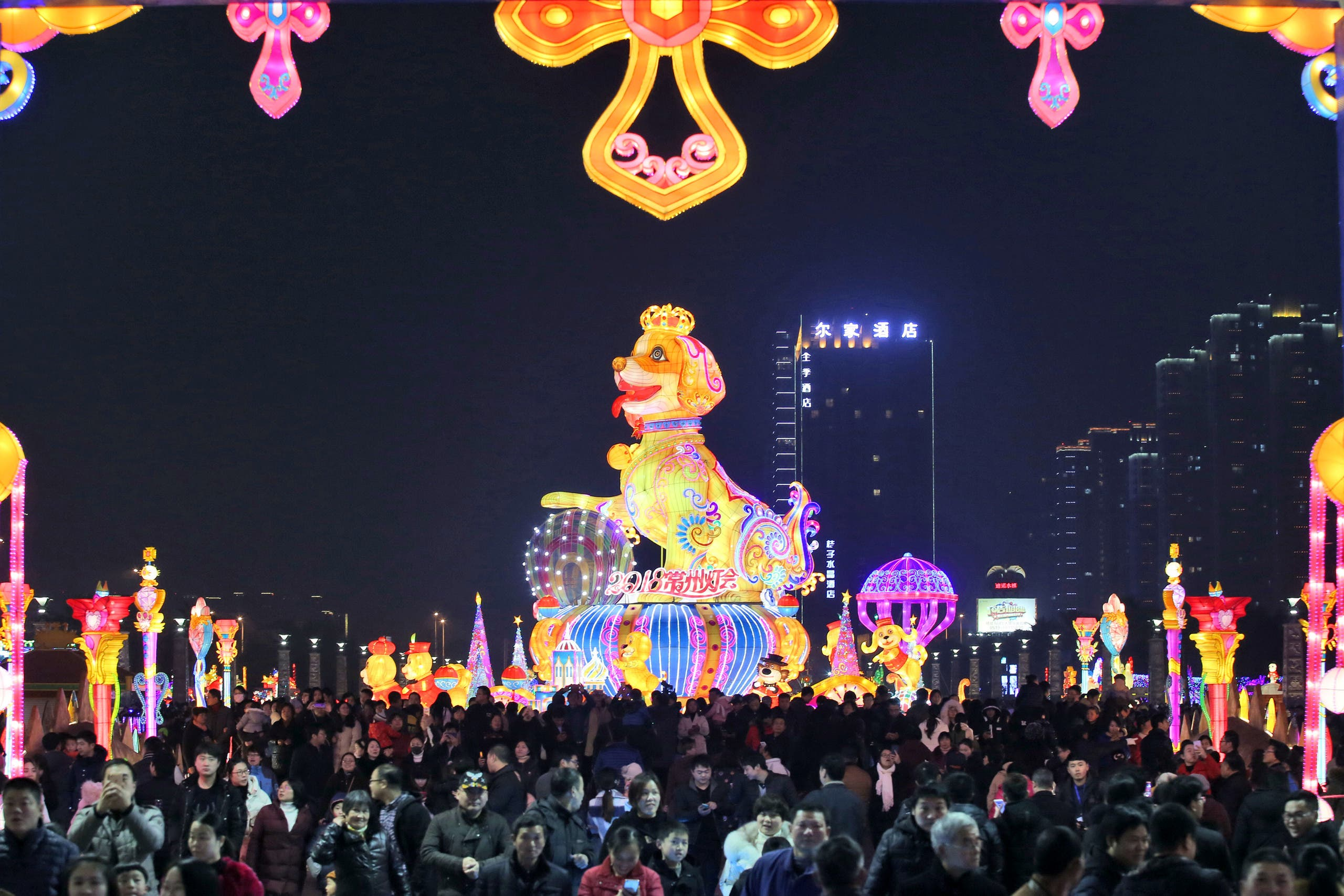 new year china. (Reuters)