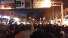Smaller Iranian cities join protests as popular uprising enters day five