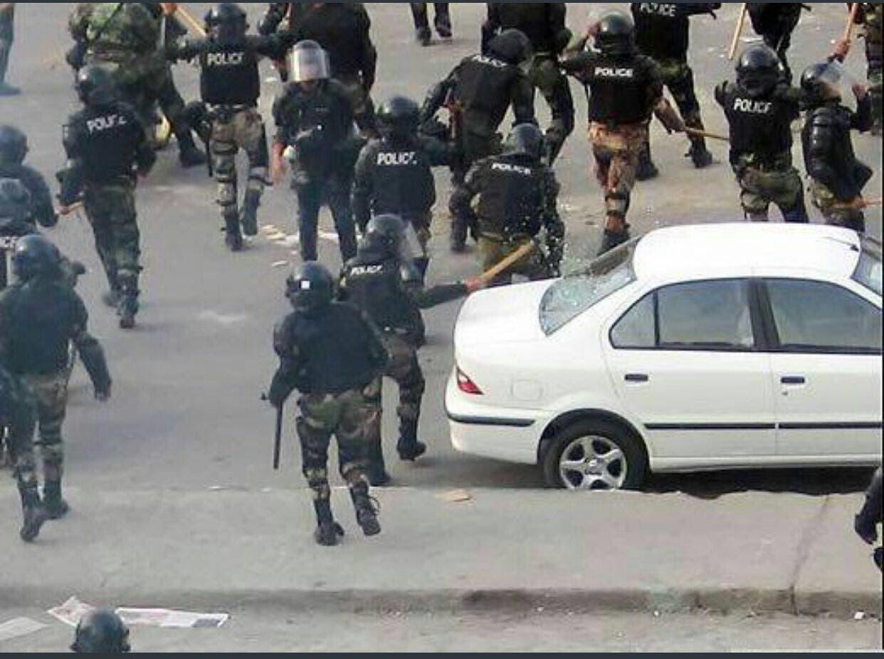 تخریب اموال مردم توسط نیروهای امنیتی