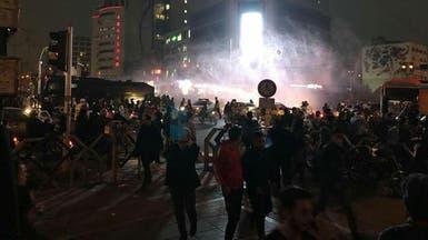 شاهد.. زخم احتجاجات إيران يتواصل