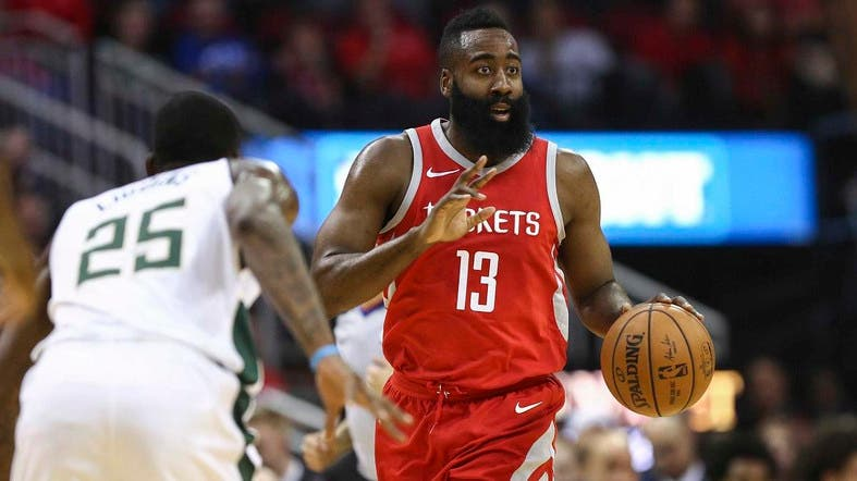 9497c2ec9fa2 Top NBA scorer James Harden out for at least two weeks. Houston Rockets  guard ...