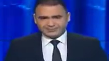 WATCH: Tunisian anchor cries on air while reading news of colleague's death