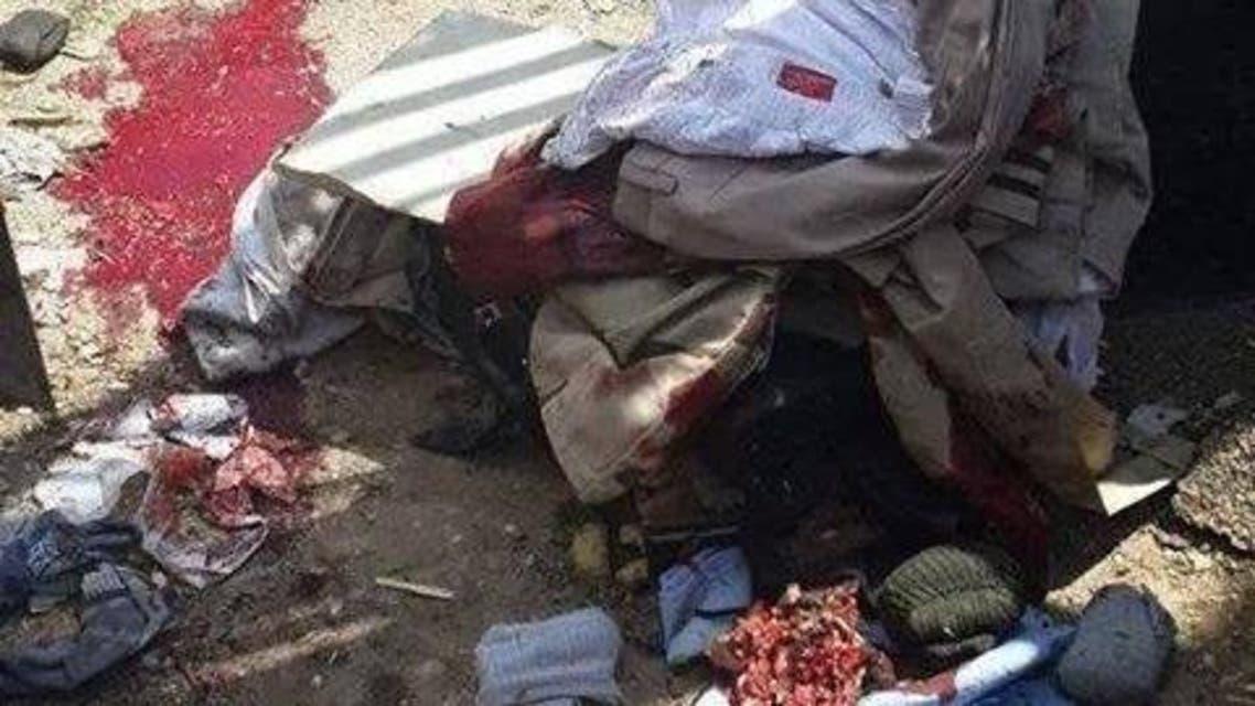 صورة من العملية الإرهابية التي وصلت برقاب المتهمين لحبل المشنقة