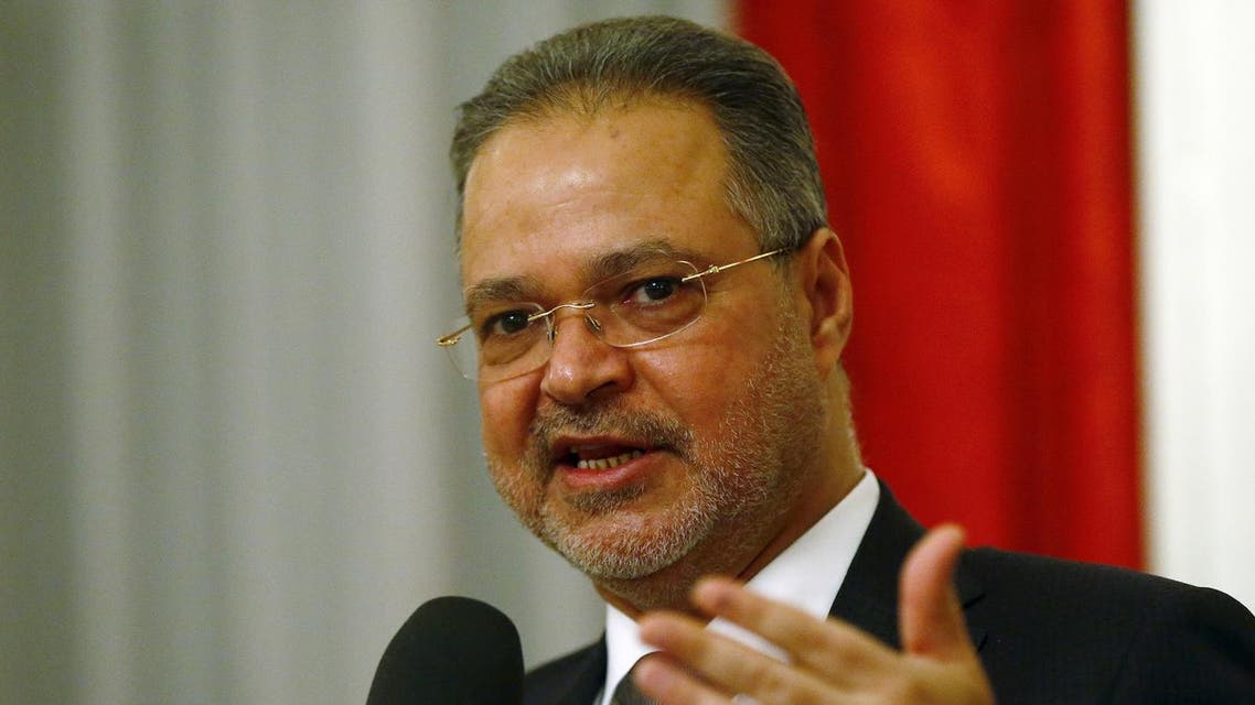Yemeni Foreign Minister Abdel-Malek al-Makhlafi. (File photo: Reuters)