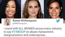 Hollywood stars back #TimesUp war on harassment as donations roll in