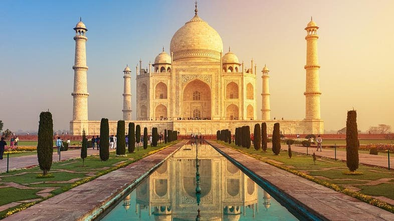 Visitors limited by India in bid to save the Taj Mahal - Al Arabiya ...