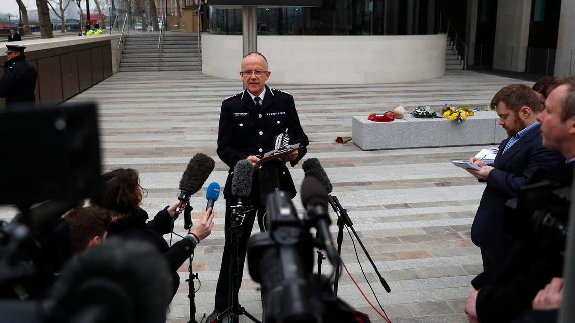 Britain's top anti-terrorism officer, Mark Rowley. (Reuters)
